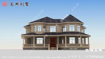 欧式风格两层别墅设计效果图