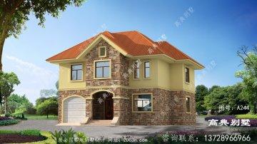 平实而精致的欧式风格两层别墅