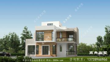 热门建造的现代风格平屋顶别墅