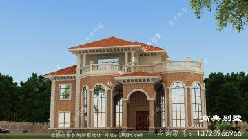 欧式风格三层美轮美奂别墅设计效果图