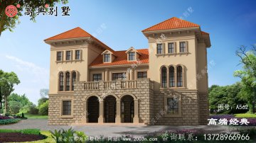 湘乡市三层别墅设计图千万不能错过,精美