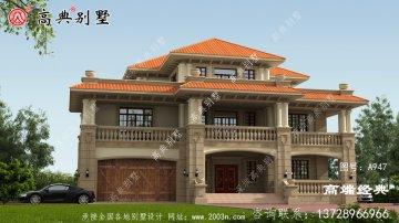 原平市农村三层楼房设计图,建房是大事