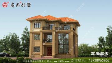 农村 三层自建房图,造价 35万西藏自治区