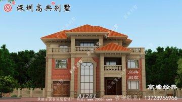 别墅设计图,建成之后可以说是村