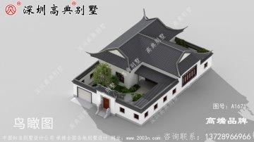 新中式别墅设计图,现在都流行回