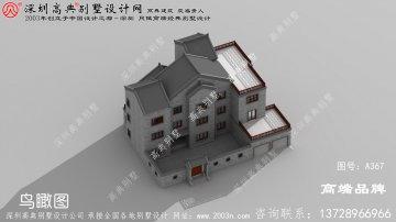 古典 实用 够大气 的三层别墅