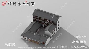 中国美丽的三层别墅,为后代留下财富。