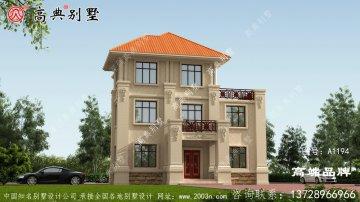 温馨的颜色也保证了别墅的观赏性