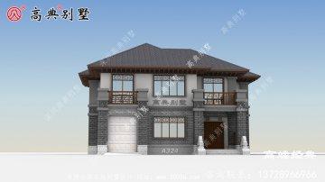 顶层利用露台和阳台在外观上塑造层次感